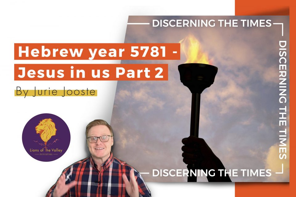 Hebrew Year: 5781 | Jesus in us Part 2 | Discerning the Times Series | Digital Conference