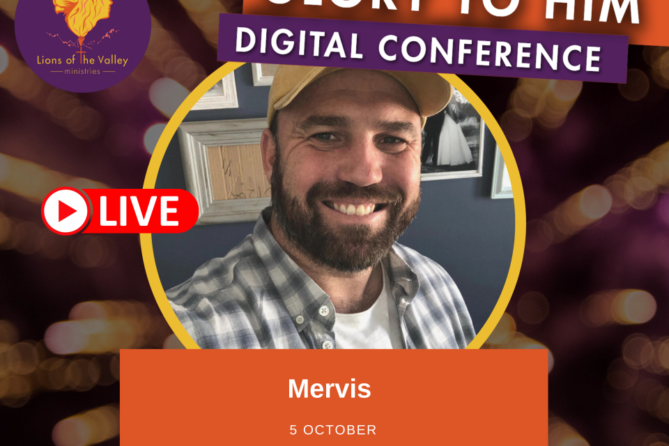 Mervis van Der Merwe | Lions of the Valley DC | Digital Conference