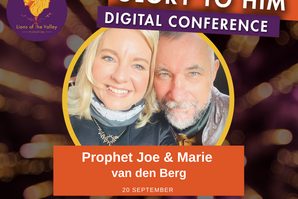 Joe and Marié van den Berg | Lions of the Valley DC | Digital Conference