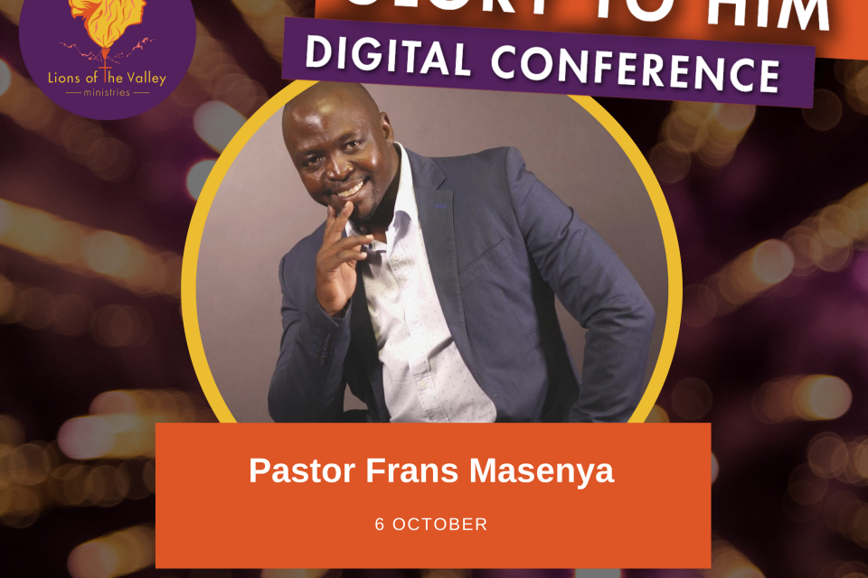 Frans Masenya | Lions of the Valley DC | Digital Conference
