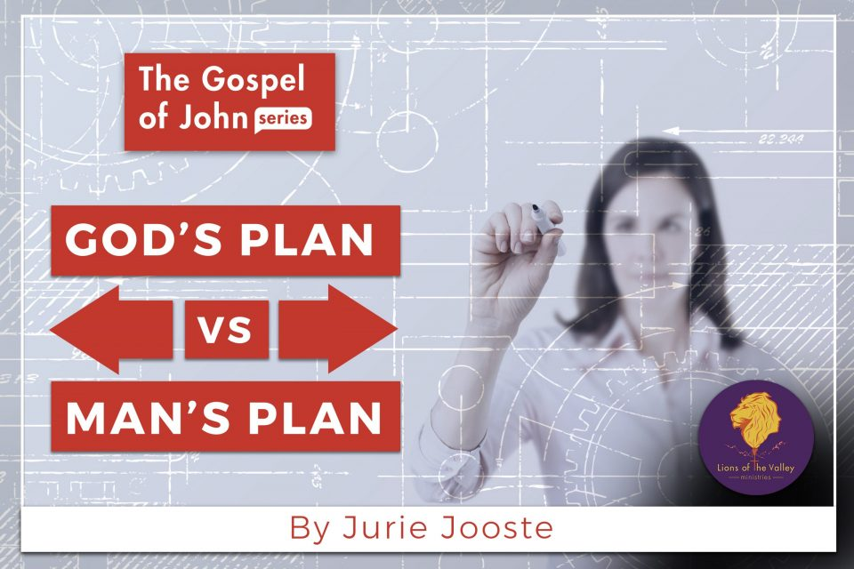 God's Plan vs Man's Plan | The Gospel of John Series | Lions of the Valley DC
