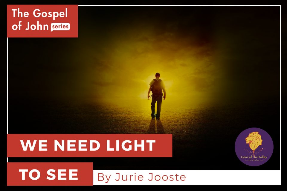 We need Light to See | The Gospel of John Series | Lions of the Valley DC